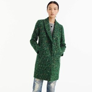 J. Crew Daphne Tweed Topcoat